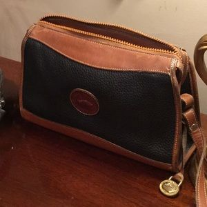 Dooney & Bourke Vintage Leather Crossbody Handbag